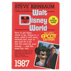 "Harper Goff's ""Walt Disney World"" Official Guidebook."