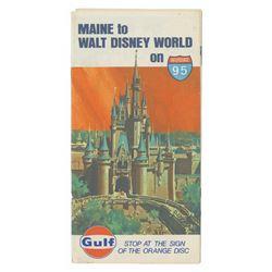 Walt Disney World Road Map by Gulf.