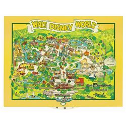 Walt Disney World Dial-Guide Map.