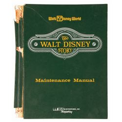 The Walt Disney Story WED Maintenance Manual.