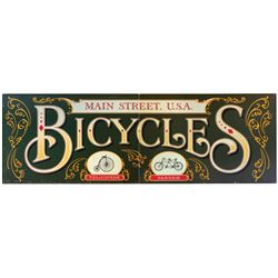 Main Street Bicycles Sign.