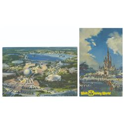 Pair of Walt Disney World Postcards.