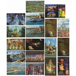 Set of (18) Walt Disney World Postcards.
