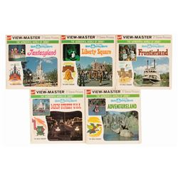 Set of (5) Walt Disney World View-Master Reels.
