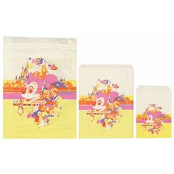 Group of (3) Walt Disney World Paper Shopping Bags.