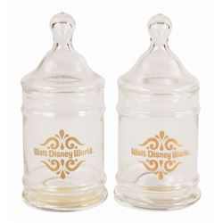 Pair of Main Street Candy Jars.