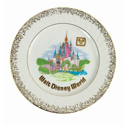 Walt Disney World Souvenir Plate.