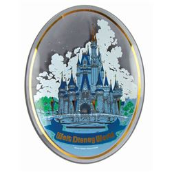 Walt Disney World Glass Tray in Box.