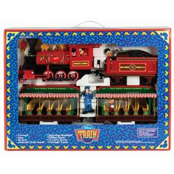 Walt Disney World Toy Train in Box.