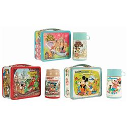 Group of (3) Walt Disney World Lunchboxes.