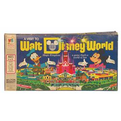 """A Visit to Walt Disney World"" Board Game."