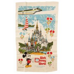 Walt Disney World Tapestry.