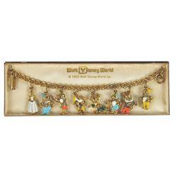 Snow White 8-Charm Bracelet.