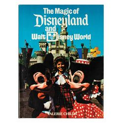 """The Magic of Disneyland and Walt Disney World"" Book."