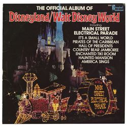 The Official Album of Disneyland/Walt Disney World.