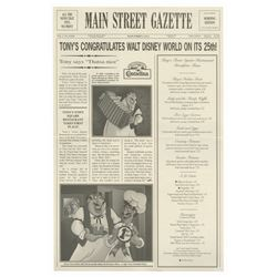 Walt Disney World 25th Anniversary Main Street Gazette.