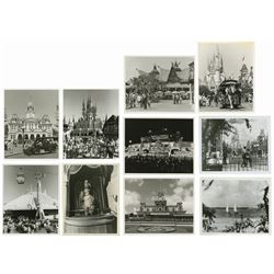 Collection of (10) Walt Disney World Press Photos.