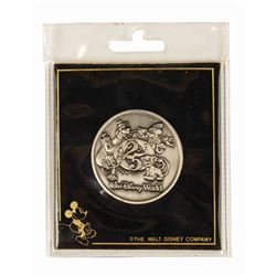 Walt Disney World 25th Anniversary Coin.