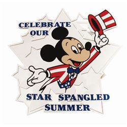 """Celebrate Our Star Spangled Summer"" Sign."