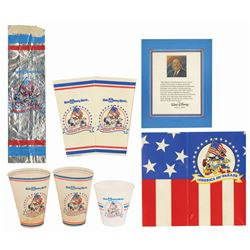 Set of (7) America on Parade Souvenirs.