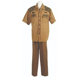 Jungle Cruise Male Cast Member Costume.