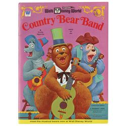Country Bear Band Punch-Out Book.