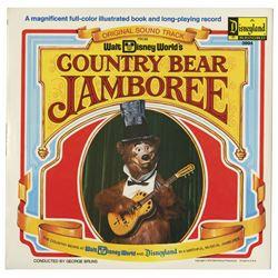 Country Bear Jamboree Souvenir Record.