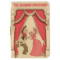 Diamond Horseshoe Revue Menu.