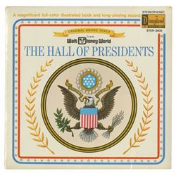 The Hall of Presidents Souvenir Record.