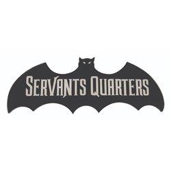 Haunted Mansion Servant's Quarters Sign.