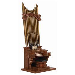 Haunted Mansion Organ Figure.