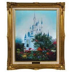 Original Cinderella Castle Painting.