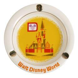Walt Disney World Cinderella Castle Ashtray.