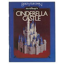 Cinderella Castle Model Kit Book.