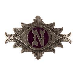 20,000 Leagues Under the Sea Cast Member Hat Badge.