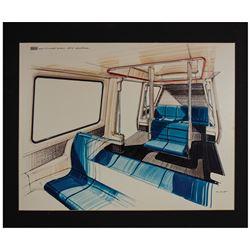Monorail Mark VI Concept Art Print.