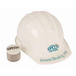 Epcot Groundbreaking Hardhat & Dirt.
