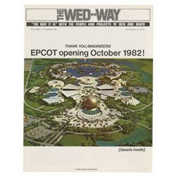 "Harper Goff ""The WED-Way"" Epcot Opening Issue."