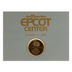 Epcot Opening Day Commemorative Coin.