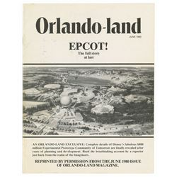"""Orlando-land"" Epcot Imagineering Issue."