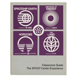Epcot Classroom Guide Booklet.