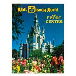 """Walt Disney World and Epcot Center"" Book."