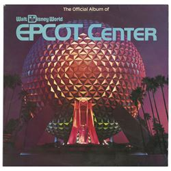 The Official Album of Epcot Center.