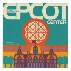 Epcot Center Kodak Dial Map.