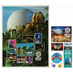 Group of (8) Epcot Souvenirs.
