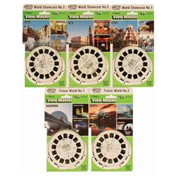 Collection of (5) Epcot View-Master Reels.