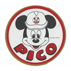 Epcot PICO Construction Sticker.