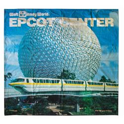 Large Epcot Center Banner.