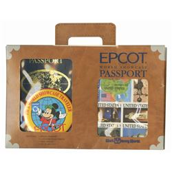 Epcot World Showcase Passport Kit.