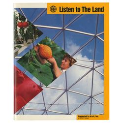 Listen to the Land Souvenir Book.